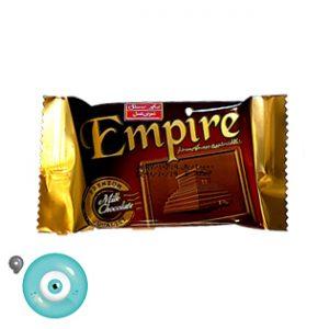 شکلات شیری بیسکویت دار امپایر